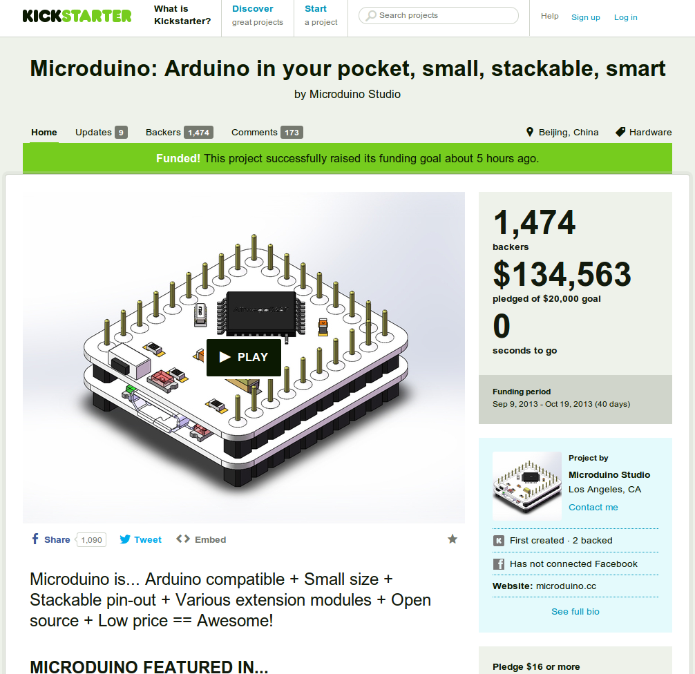 kickstarter projects How to report a kickstarter project kickstarter is an online crowdfunding website that aims to help individuals who have great and promising ideas to get the.